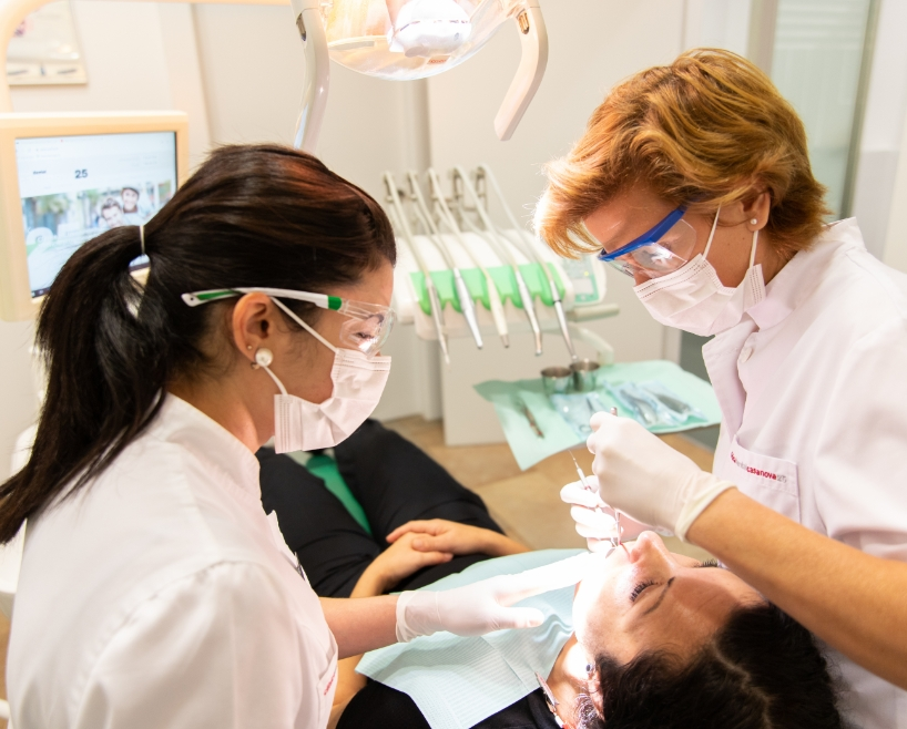 The advantages of our dentist in Barcelona